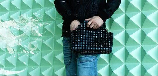 João Sabino - Keyboard tas - black