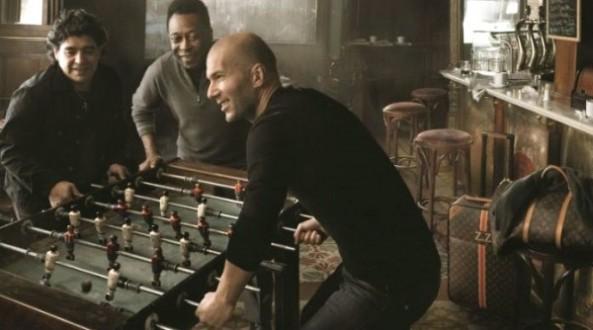 Louis Vuitton - tassen - Maradona-Pele-Zidane