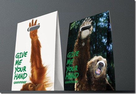 Greenpeace - Give me your hand (1) - tassen