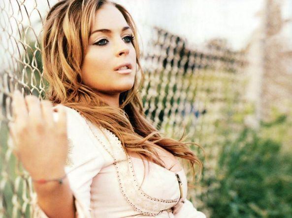 Lindsay Lohan tassen