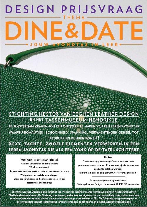 Dine & Date - Hester van Eeghen - Tassen-mode