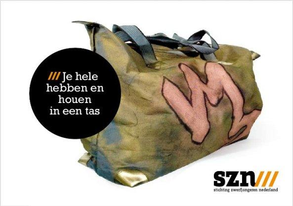 tassencampagne - tassen - zwerfjongeren