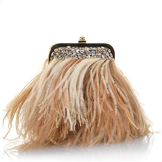 Mary-Norton-Small-Ostrich-Feathers-Evening-Handbag - Tassen-mode
