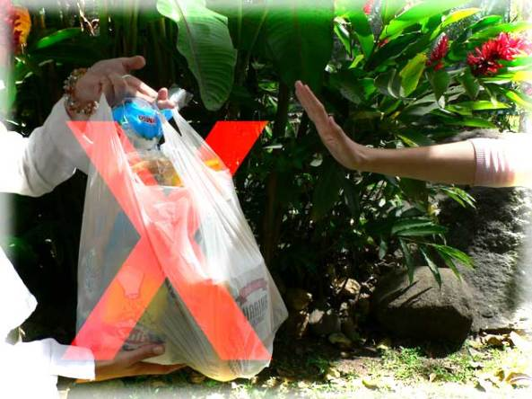 Plastic zak - Spanje - Tassen-mode