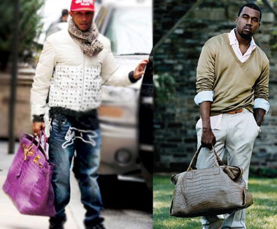 Pharrell & Kanye West Hermes Birkin mannentas - Tassen-mode
