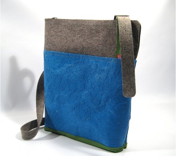 Marie-Jose Hamers - Garbag schoudertas - Tassen-mode-nieuws