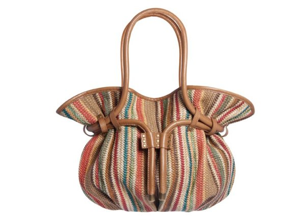Ipa-Nima - Pedro Raffia Bucket Bag - Tassen-mode-nieuws