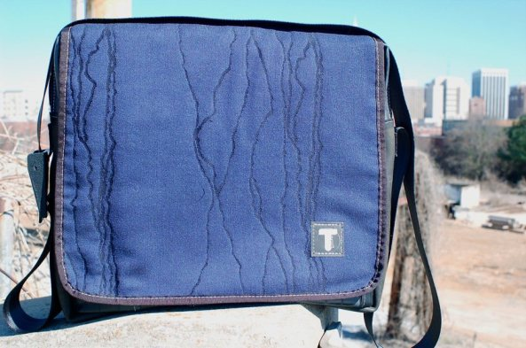Tierra Ideas - Navy Hybrid Laptop Bag - Tassen-mode-nieuws