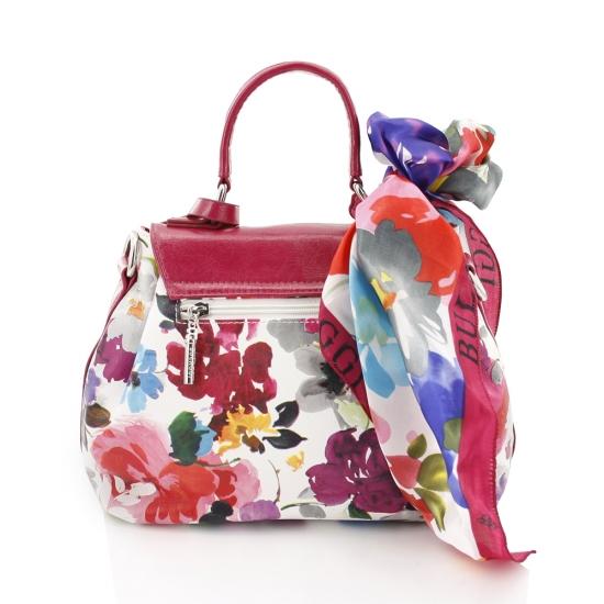 Bulaggi - Feminine Flair - Energy Balance - Flower Flapbag Fuchsia - Tassen-mode-nieuws