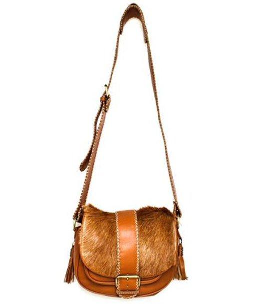 Cha Ibiza - Alisha Staats - Lotus Bag Cognac - Tassen-mode-nieuws