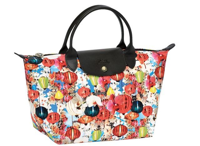 Tassen Ontwerpen Programma : Longchamp werkt samen met mary katrantzou om een tassen