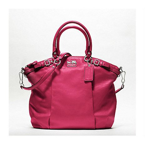 Coach - MADISON LEATHER LINDSEY SATCHEL - Tassen-mode-nieuws
