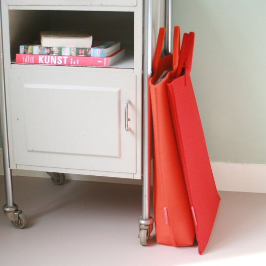 Manon Garritsen - A3 Bags rood - Tassen-mode-nieuws