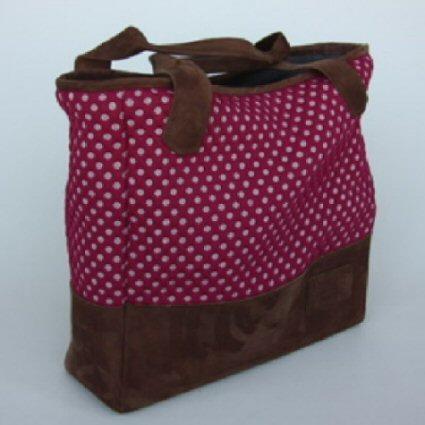 Nana Bouwens - Made Buy Nana - Werktas Roze Stippen - Tassen-mode-nieuws