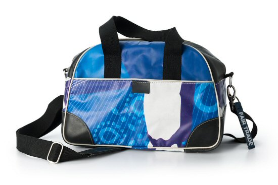 Fairbezig blauwe  tas - Tassen-mode-nieuws