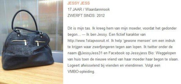Zwerfnet - Stichting Zwerfjongeren Nederland - Jessy Jess - Tassen-mode-nieuws